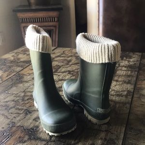 Gymboree kids rain boots
